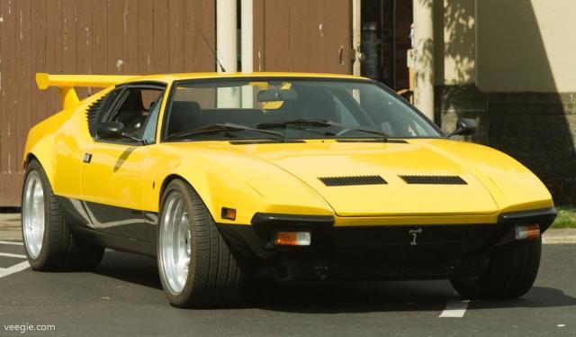 De Tomaso Pantera - Killer Yellow Pantera